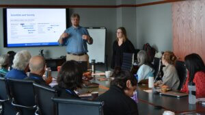 DoSER staff lead a workshop on science engagement with faith communities